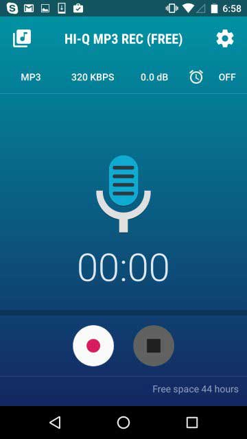 ضبط صدا با کیفیت فوق العاده اندروید/دانلود نرم افزار ضبط صدا با کیفیت استودیو برای اندروید/نرم افزار ضبط صدا با کیفیت بالا ايفون/دانلود نرم افزار
