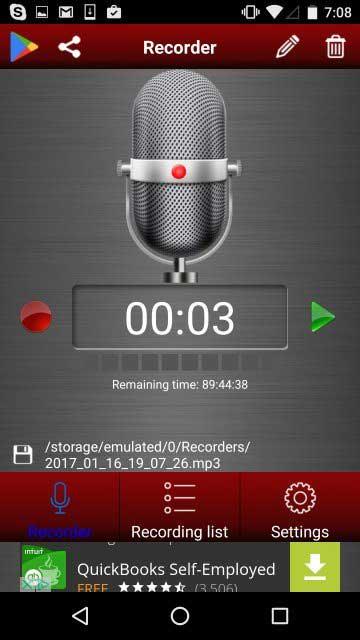 برنامه Green Apple Studios Audio Recorder