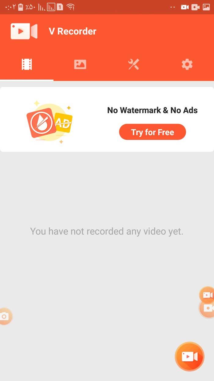 ضبط فیلم های آموزشی و یا ضبط تماس های تصویری شما در برنامه هایی مانند واتساپ و وایبر