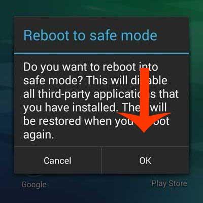نحوه فعال سازی حالت Safe mode در اندروید
